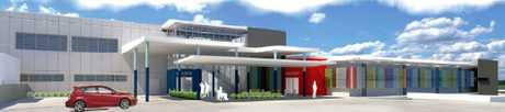 An artist's impression of the $42 million Gladstone Hospital Emergency Department upgrade.