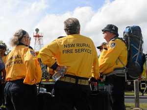 A grateful region farewells NSW fireys at Bundaberg Airport