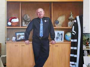 CQU's former VC Bowman's portrait unveiled