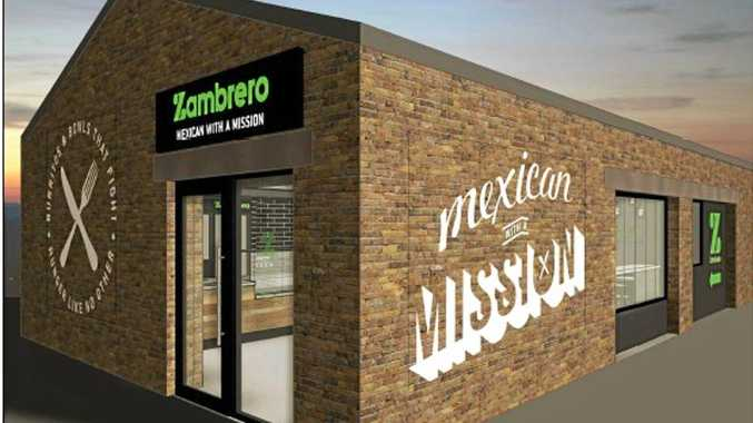FOOD: An artist's impression of the new store.