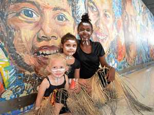 Butchulla culture immortalised in new shopping centre mural