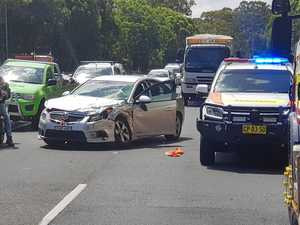 Two hospitalised in head-on crash