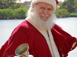 BREAKING: Santa Claus spotted entering the Lockyer