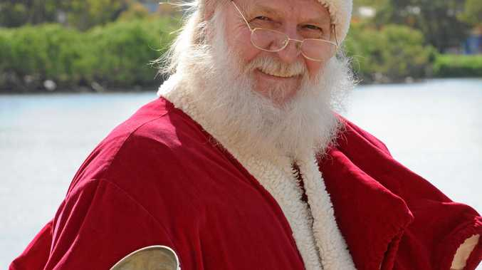 MERRY CHRISTMAS: Santa Claus in the Lockyer