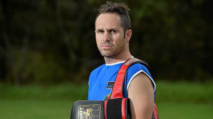 TOP HONOUR: Coast boxer Brad Hore was inducted into the Sunshine Coast Hall of Fame last night.