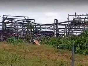 PATH OF DESTRUCTION: Storm smashes Gin Gin family farm