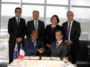 Historic deal signed for clean energy city