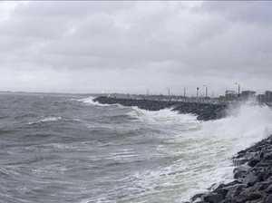 Weather delays Mackay breakwater re-opening