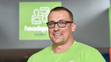 Centre manager for Grafton Headspace Jason Grimes.