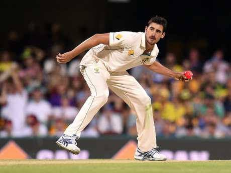 Mitchell Starc is the pink-ball specialist and has taken 24 wickets in four Tests under lights.