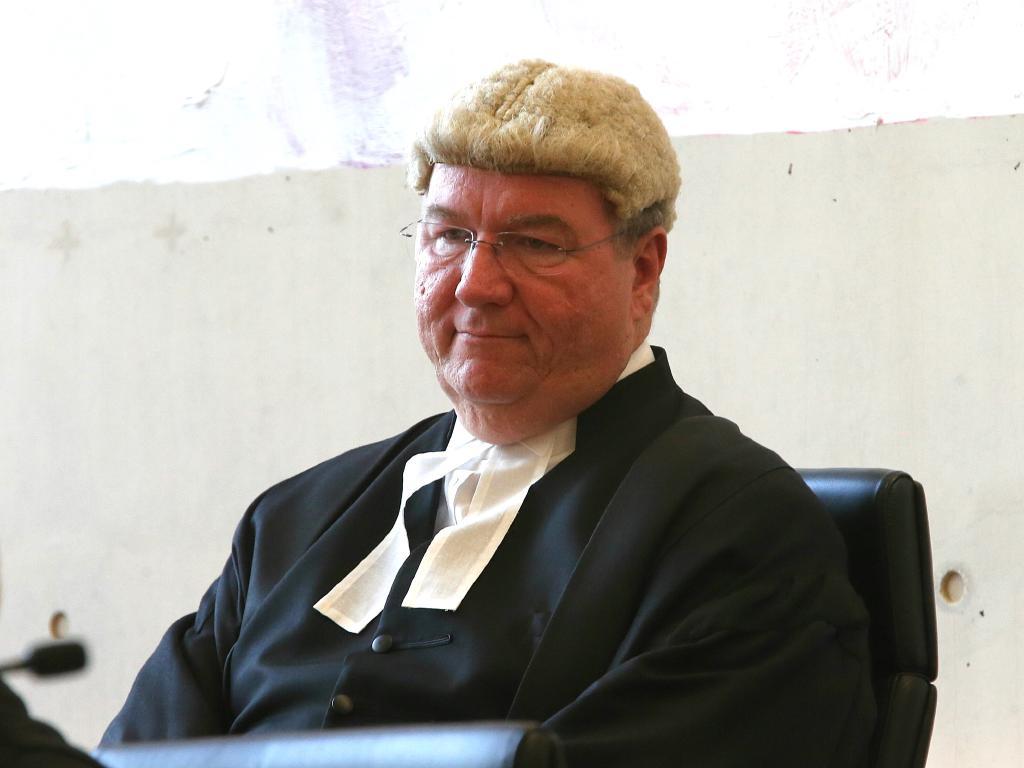 Brisbane Supreme Court Justice Martin Daubney.
