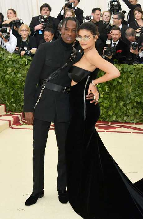 Relax everyone, Travis Scott and Kylie Jenner are still together. Picture: Neilson Barnard