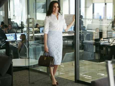 Meghan Markle as Rachel Zane. Picture: Ian Watson/USA Network/NBCU Photo Bank via Getty Images