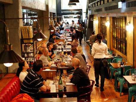 Jamie's Italian' on Pitt Street in the Sydney CBD will be open. Picture: Supplied