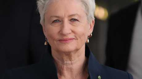 Kerryn Phelps at Parliament House. Picture: Kym Smith
