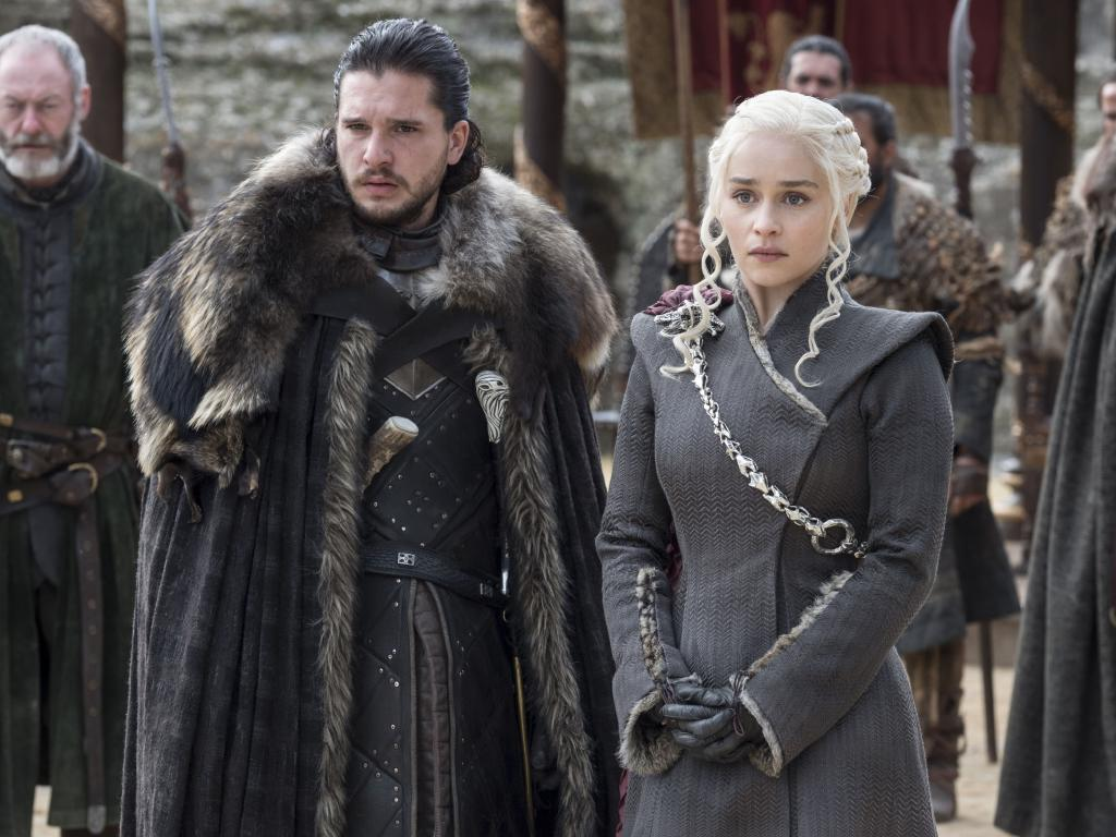 Jon Snow and Daenerys Targaryen have a bit of a task on their hands. Picture: HBO