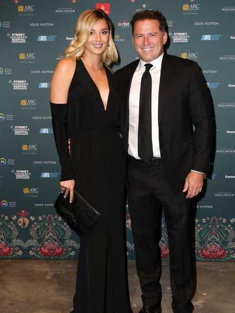 Back in black-tie mode at Sydney Children's Hospital Gold dinner. Picture: Christian Gilles