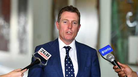 Attorney-General Christian Porter said Labor was choosing politics over allowing security agencies the tools needed to protect Australia. Picture: Mick Tsikas