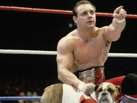 Tommy Billington, aka Dynamite Kid, was a star at WWE's peak in the 1980s. Picture: WWE