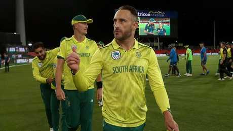 Faf du Plessis. Loves a mint.