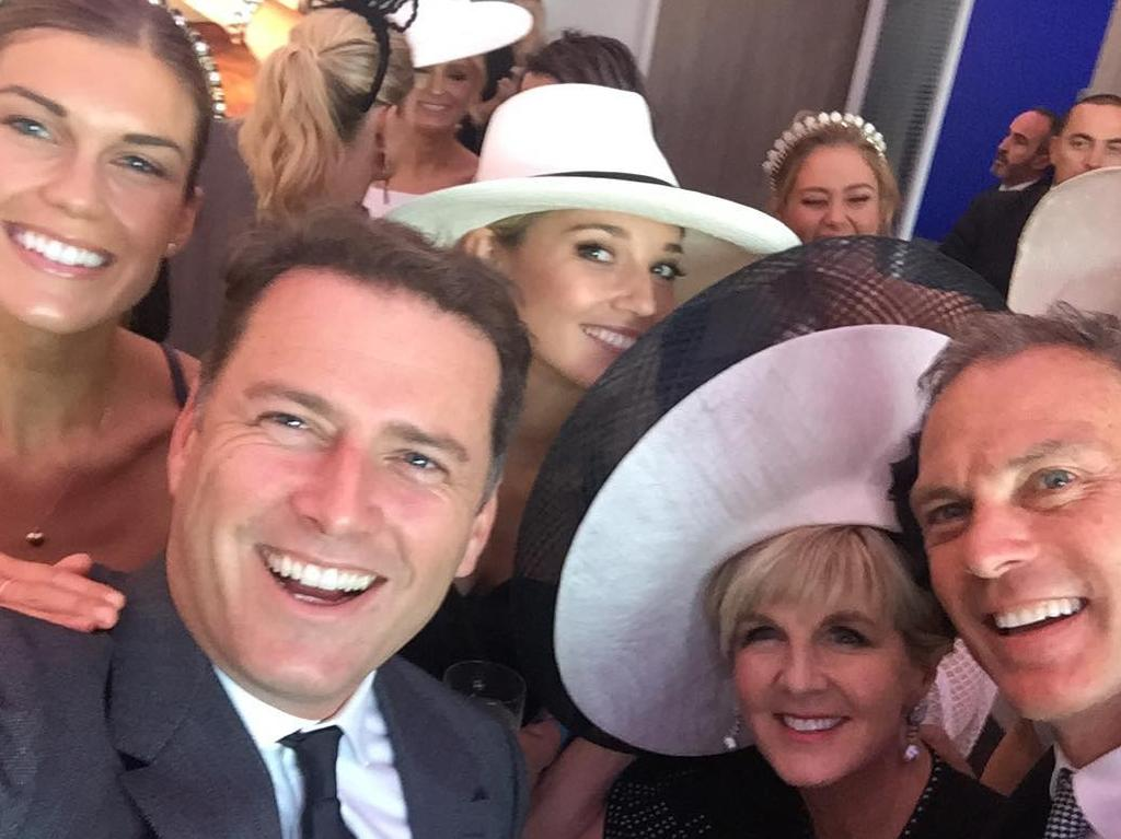Julie Bishop is reportedly attending the wedding. Picture: Instagram