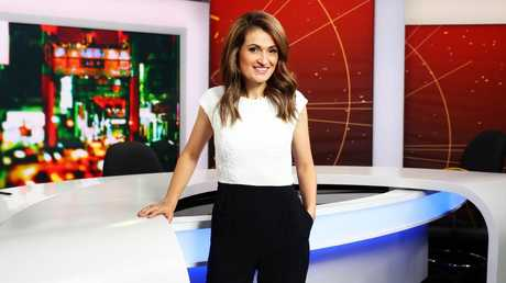 ABC journalist Patricia Karvelas in the outfit that saw her booted from the public gallery during Question Time. Picture: Aaron Francis