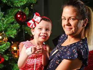 Brave girl completes chemo before Christmas