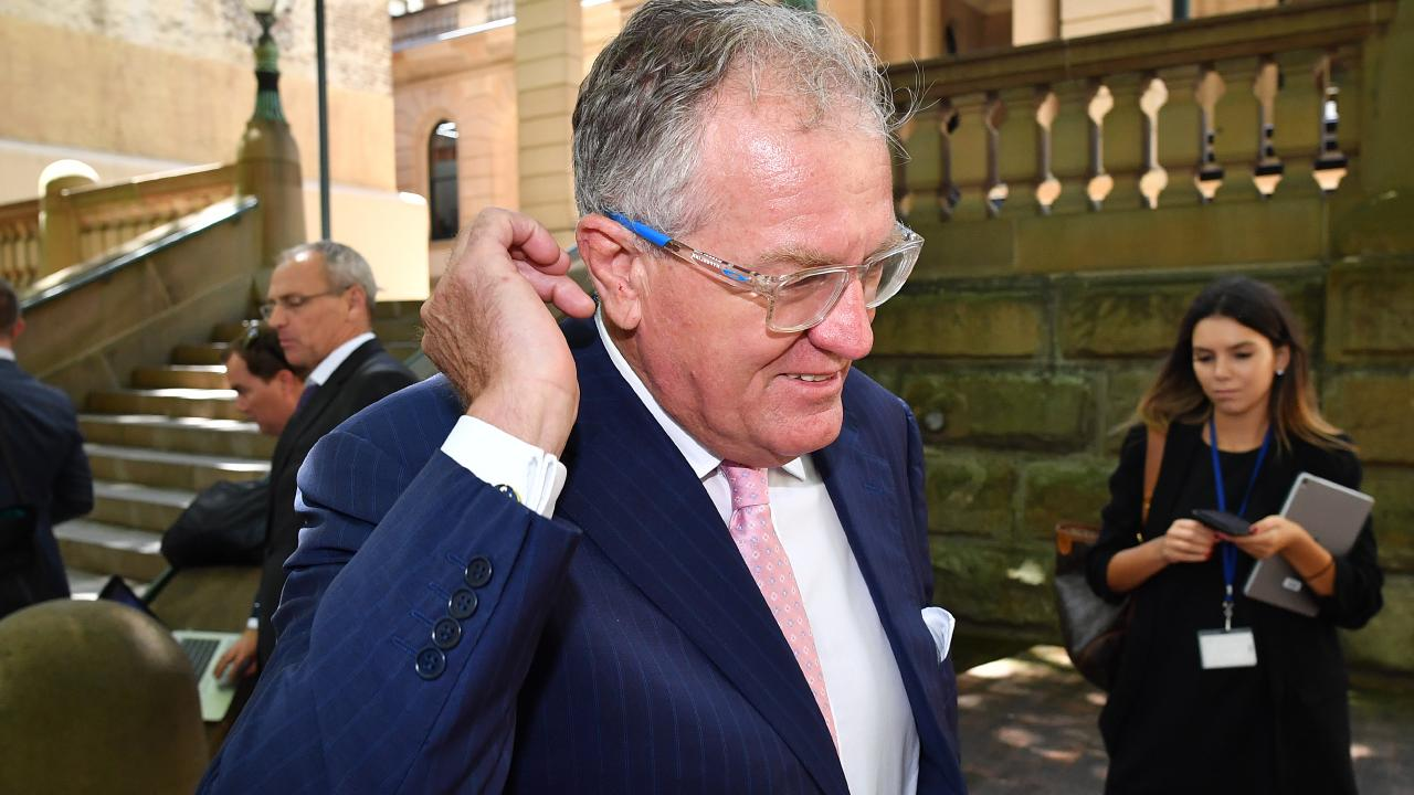 Lawyer Greg Walsh says that Chris Dawson plans to plead not guilty. Picture: AAP Image/Joel Carrett