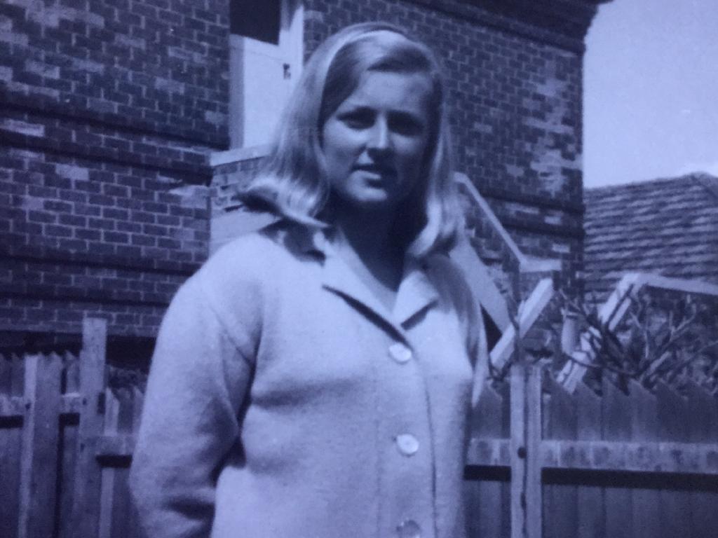 Supplied image of Lynette Dawson. Lyn circa 1964 aged 16.