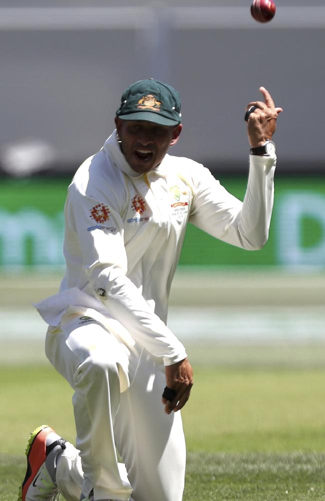 Usman Khawaja pulled off a stunner to get the break through.