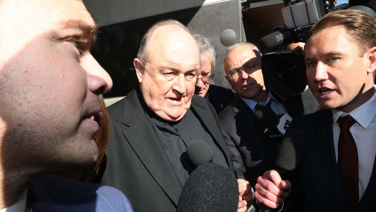 Former Adelaide Archbishop Philip Wilson was previously sentenced to six months home detention in January 2017. Picture: Adam Taylor