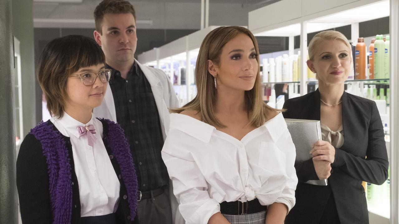 Jennifer Lopez's character Maya lands an executive role with a high-end beauty manufacturer.