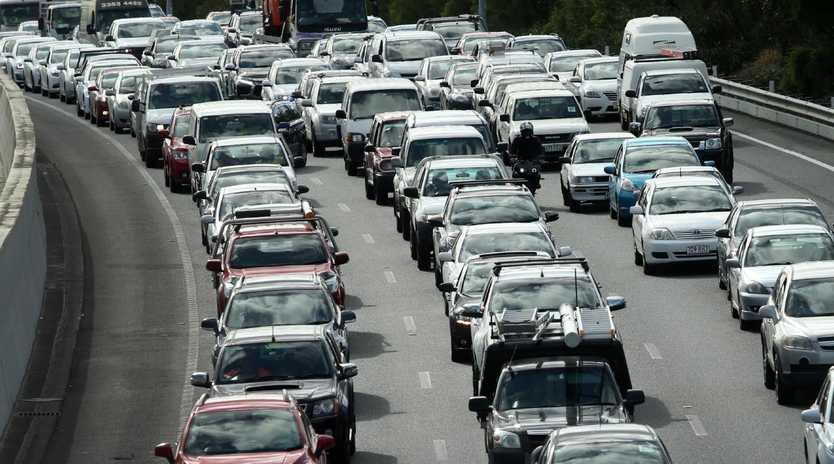 Motorists have been advised to avoid the Pacific Motorway at Tanah Merah.