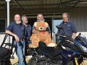 Motorcycle club revs up for charity ride