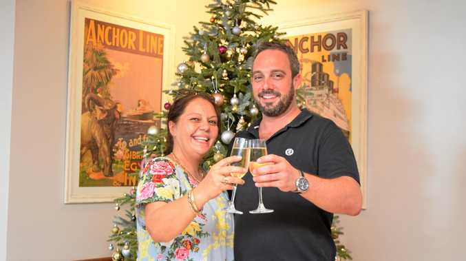 CHEERS: Co-Owners Leah McMillian and Josh Knutson have worked hard to make sure their beloved Anchor Bar is open in time for Christmas