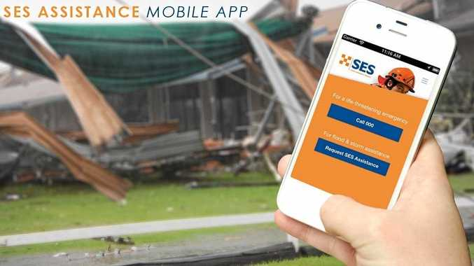 HELP US HELP YOU: There is now an SES mobile app available in case of emergency, but remember to do what you can to help yourself.