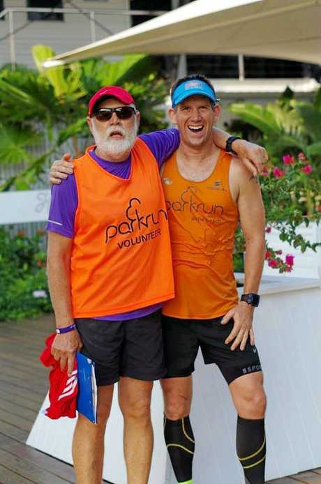 Bob Barford and Justin Knight-Gray are the team behind Airlie Beach parkrun.