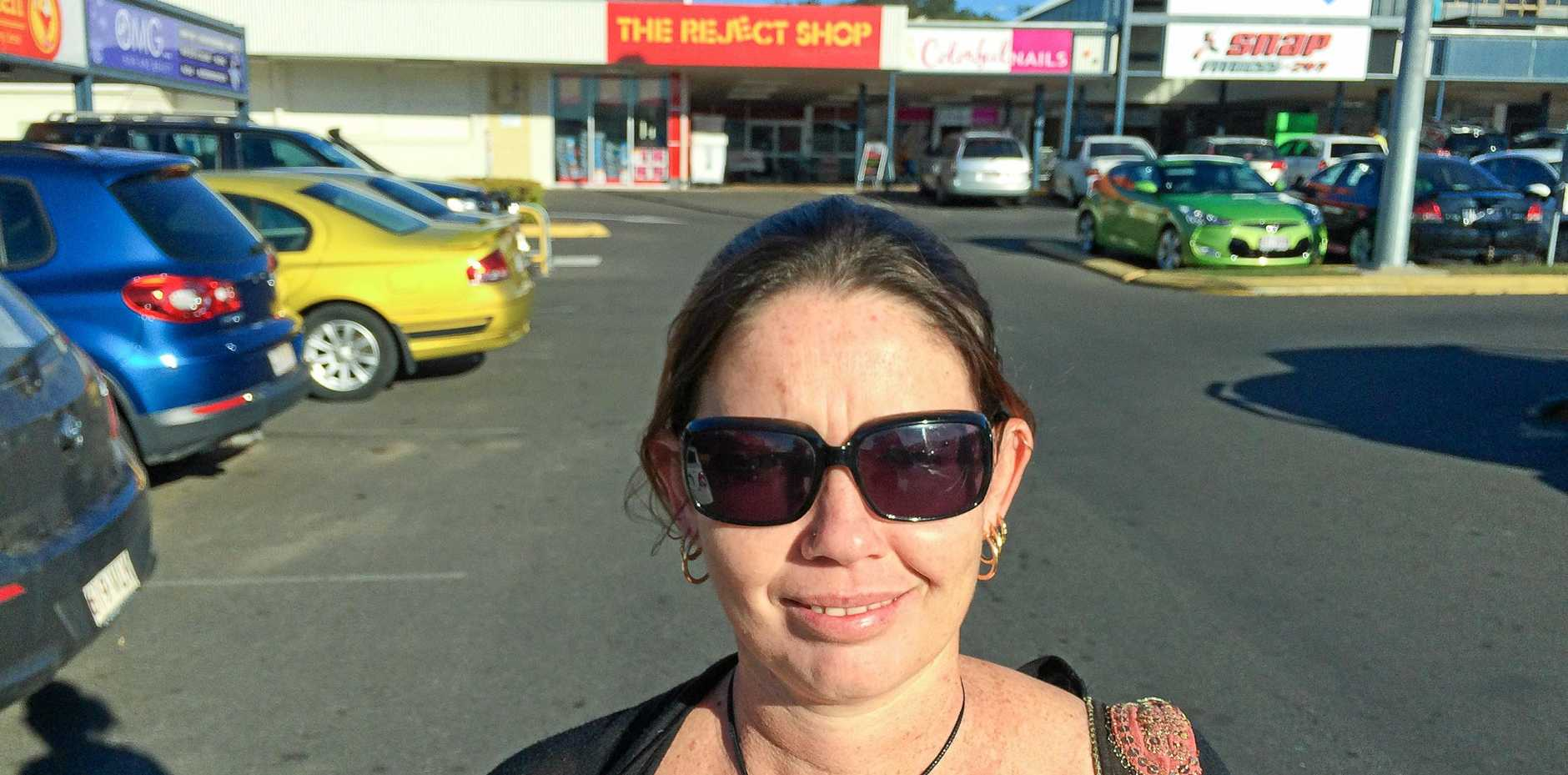 Cherie Margaret Malcolm pleaded guilty in Gladstone Magistrates Court to two counts of assault or obstruct police.