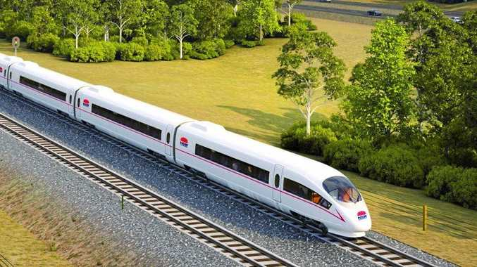 WHY STOP?: The potential routes announced this week for the State Government's proposed high-speed rail network stop short at Port Macquarie.