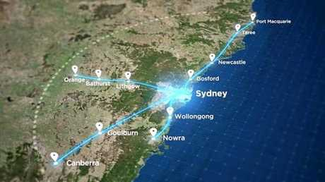 THE potential routes announced this week for the State Government's proposed high-speed rail network could prove greatly beneficial to regional NSW.
