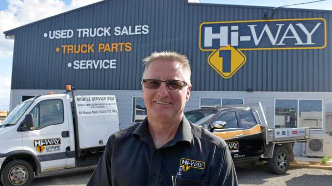 General manager at the new Hi-Way 1 store, Paul Williamson in front of the new purpose-built building.
