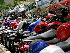 Without deterrents motorbikes are gone in 60 seconds
