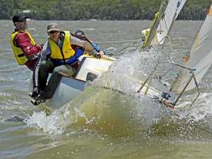 Plenty of action on sailing scene