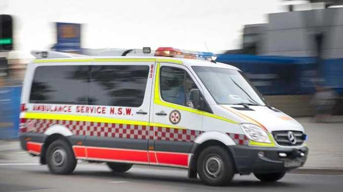 CAR CRASH: Emergency services including NSW Ambulance were called to a motor vehicle accident on Dunoon Rd, Dunoon on Friday morning.