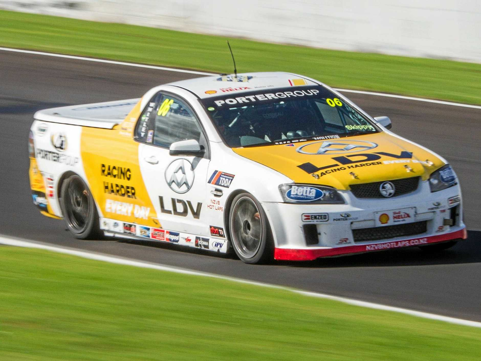 Toowoomba's Alexandra Whitley begins the new New Zealand V8 ute racing season this weekend in her recently purchased Holden Commodore VE.