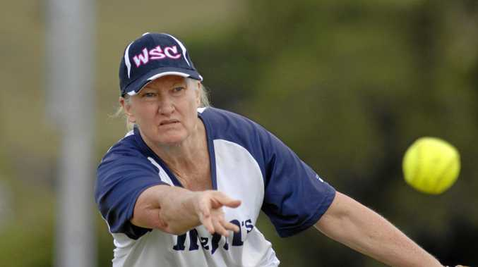 EXPERIENCE PLUS: Kathy Johns' pitching plays a big part in the game of Woodburn Wonders in Far North Coast softball.