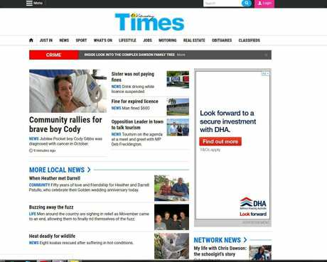 Your Proserpine news online will join coverage from across the Whitsundays region on whitsundaytimes.com.au.