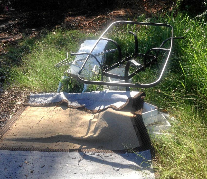 Most illegal dumping incidences are of household waste left on kerbsides and in public parks and reserves.
