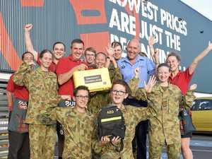 Bunnings Grafton donate defibrillator to Grafton Cadets