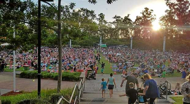The Orion Springfield Central Carols at Robelle Domain Parklands drew a record crowd at the weekend.